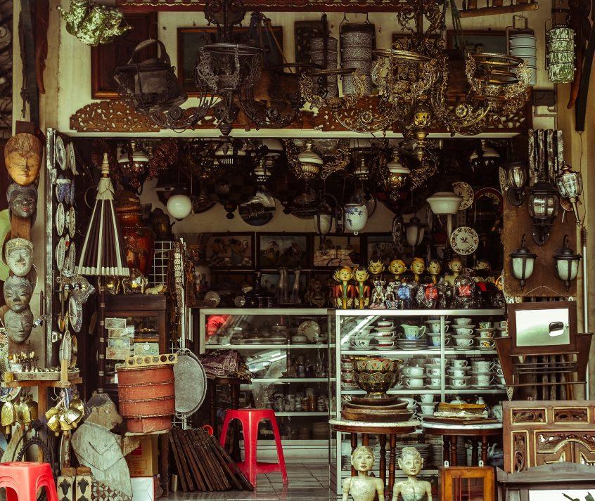 collezionare oggetti antichi